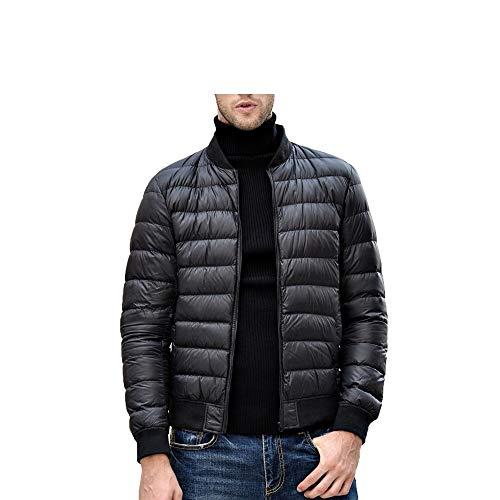 Men Filling Parka Down Prueba Black Viento Stand Coat Duck Mazf A Jacket De Warm Collar Winter Power ztTpWwqA
