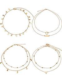 Women S Choker Necklaces Amazon Com