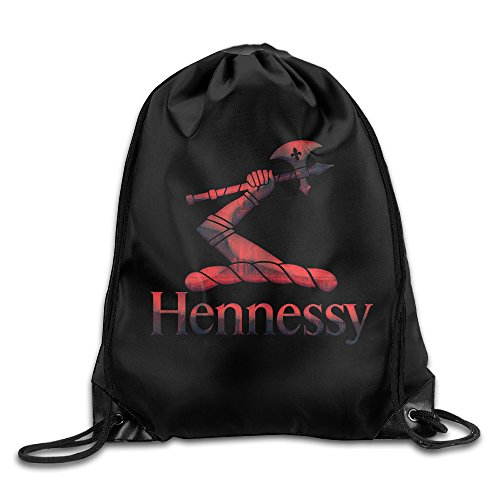red-metal-hennessy-xo-logo-sport-backpack-drawstring-print-bag