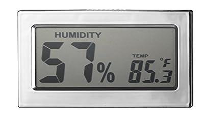 Visol Modern Rectangular Digital Hygrometer