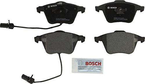 Bosch BP1111 QuietCast Premium Semi-Metallic Disc Brake Pad Set For: Audi A4, A4 Quattro, A6, A6 Quattro, S4, TT Quattro, Front (Best Brake Pads For Audi A4)