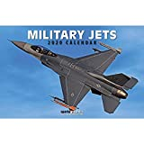 2020 Military jets Deluxe Wall Calendar
