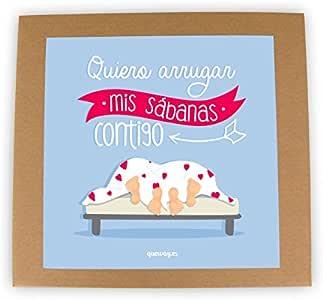 QuéWay! Juego de mesa para parejas Quiero arrugar mis sabanas contigo: Amazon.es: Juguetes y juegos