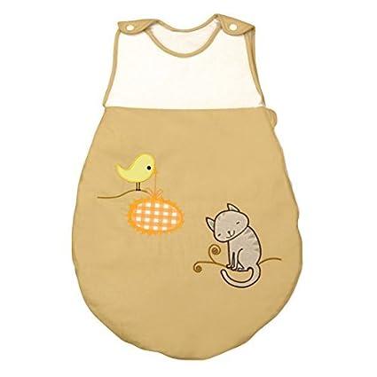 Saco de Dormir de Bebé modelo Gatito de Petit Chat (talla 0-6 meses)