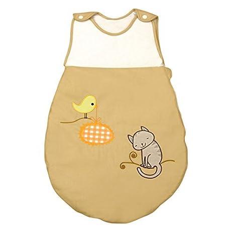 Saco de Dormir de Bebé modelo Gatito de Petit Chat (talla 0-6 meses