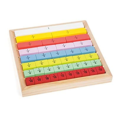 Small Foot Wooden Toys Learning Fractions