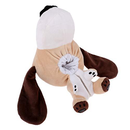 混乱黒くする帽子IPOTCH ゴルフヘッドカバー 保護 ぬいぐるみ ニット 可愛い 動物柄 460 cc/No.1ウッドドライバー適用 全5選択し