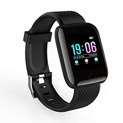 HFXLH Smart fitness band Smartband Fitness tracker Smart Bracelet Blood Pressure Watch Heart Rate Monitor WaterproofSport Wristband Estimated Price £22.90 -