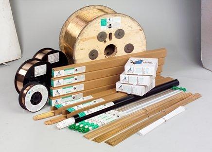 ERCuAl-A2 X 1/16in X 36in X 1 lb Tube (Alum Bronze A2) TIG rod (36 Lbs)