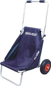 Eckla silla de playa con ruedas color azul plata deportes y aire libre - Carro porta sillas playa ...
