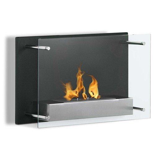 Moda Flame Epila Wall Mounted Ethanol Fireplace - Hanging Gel Fuel Fireplace