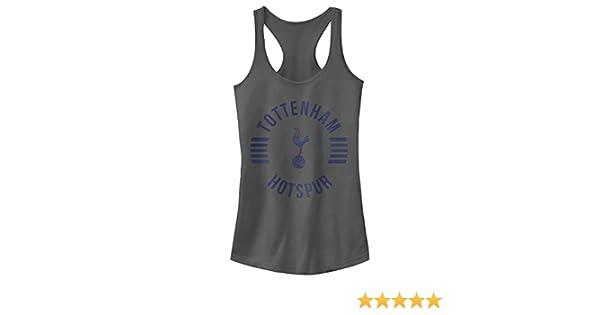 e3876e6651f3e Amazon.com  Tottenham Hotspur Football Club Juniors  Team Striped Logo  Racerback Tank Top  Clothing