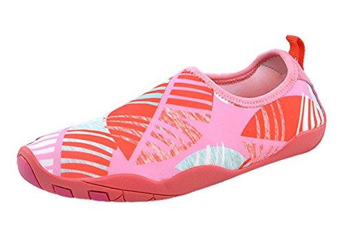 Spiaggia Water Rosa Antiscivolo Rapida Da Surf Scarpe Aqua Shoes Asciugatura Nuotare Traspirante Yoga Unisex Estate Insun Donna RzaqFF