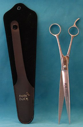 "Millers Forge Dubl Duck Economy 10"" Curved Dog Grooming S..."