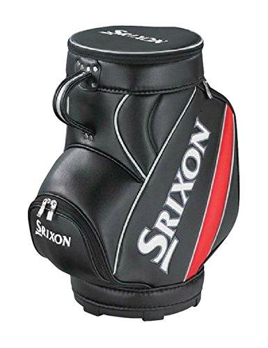 放置科学者ペデスタルDUNLOP(ダンロップ) SRIXON インテリアミニキャディバッグ GGF-85106 ブラック