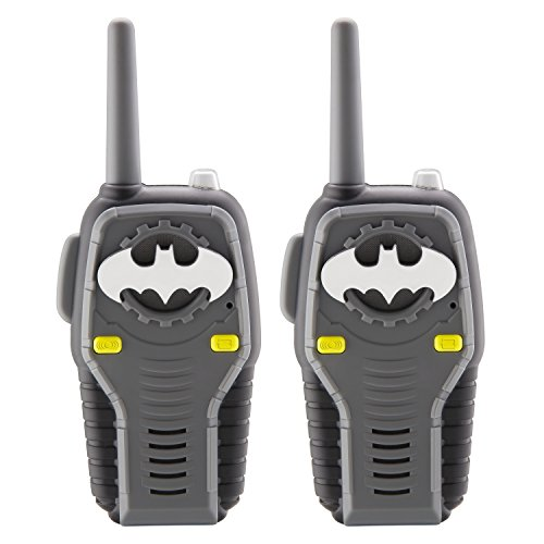 Batman FRS Walkie Talkies for Kids with Lights and Sounds Kid Friendly Easy to Use]()