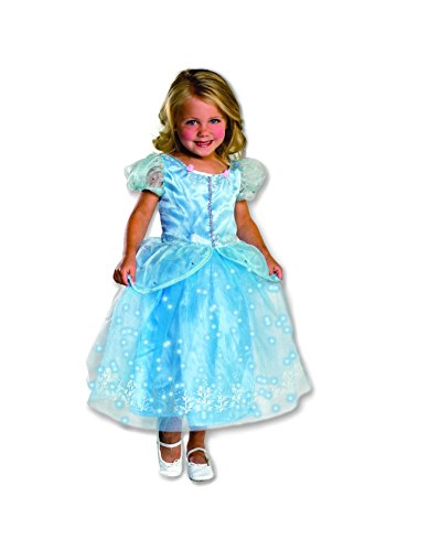 Cinderella Costumes Rental (Rubie's Costume Crystal Princess Costume with Twinkle Skirt)