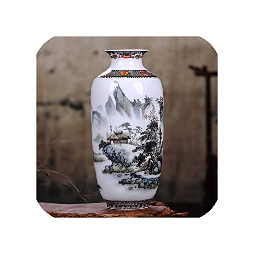 The Hot Rock Ceramic Vase Vintage Chinese Style Animal Vase Fine Smooth Surface Home Decoration Furnishing Articles,5,Australia