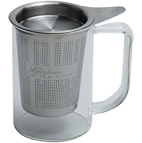 Glenburn Tea Direct Glass Infuser Mug at amazon