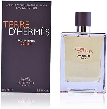 Terre D'hermes Eau Intense Vetiver by Hermes Eau De Parfum Spray 3.3 oz Men