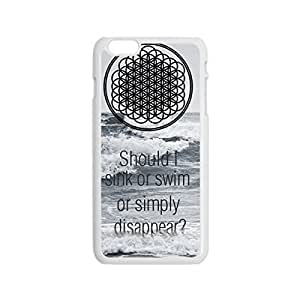 """Custom Hard Plastic case with Image from common Bring Me The Horizon Snap-on cover for iPhone 6 Surgery Plus 5.5"""" may _White 30811 and"""
