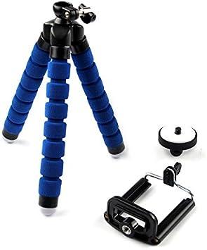 ستاند حامل ثلاثي للكاميرات الرقمية و الهواتف الذكية ، ازرق