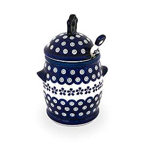 Ceramic pottery with Honey Spoon / honey GU1848 / 1849–166A)