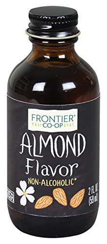 - Frontier Co-op Almond Flavor, Non-Alcoholic, 2 ounce bottle