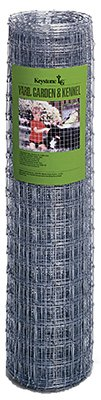 Keystone Steel & Wire 70742 Garden and Kennel Woven Fence, 48-In. x 100-Ft. - Quantity ()