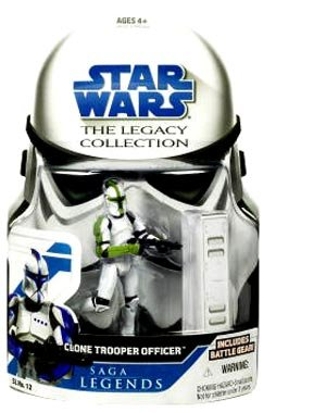 Star Wars Legacy Collection Green Clone Trooper (Green Clone Trooper)