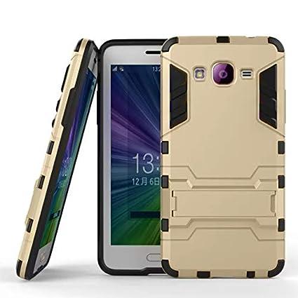 87c2bdbfcaf Funda Protector Case Uso Rudo para Galaxy Grand Prime SM-G531H. Incluye  Cristal Templado