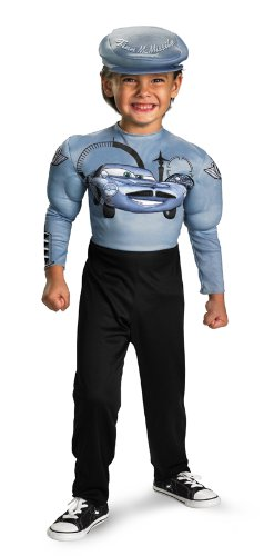 Finn Mcmissile Classic Muscle Costume - Extra Small -