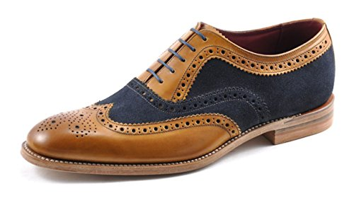 Loake Hommes Tan Thompson Brogue Chaussures-UK 9