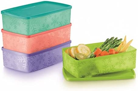 Tupperware 4-pc copo de nieve freeze-it congelador 5-cup/1,3 L ...