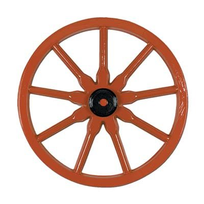 (Plastic Wagon Wheel Party Accessory (1 count))