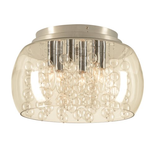 PLC Lighting 73068 PC 6 Ceiling Light Hydro Collection