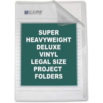 (CLI62139 - C-Line Deluxe Non-Glare Vinyl Project Folder)