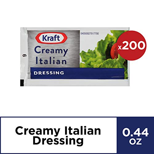 Kraft Creamy Italian Dressing (2 oz Packets, Pack of 200)