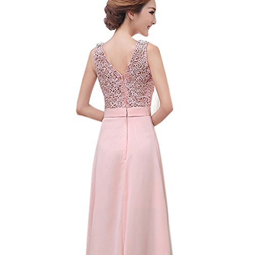 Partiss - Robe - Slim - Femme X-Large -  Rose - chinois S