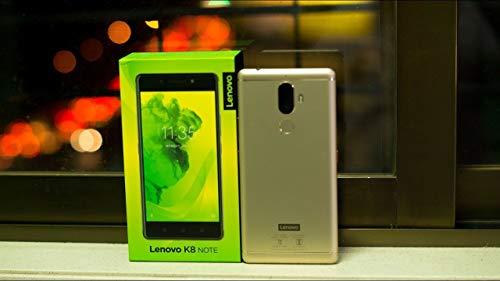 Lenovo K8 Note XT1902-3 32GB Gold, Dual Sim, 3GB, GSM Unlocked International Model, No Warranty