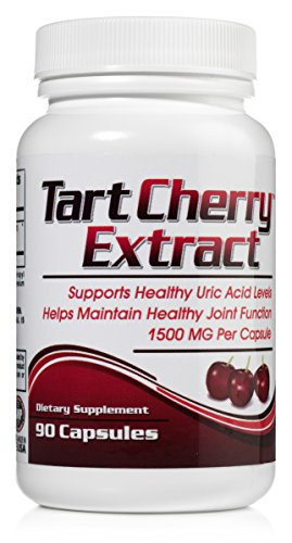 Tart Cherry Extract - Uric Acid and Joint Health Support - 90 Capsules
