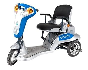 Amazon.com: Titan Folding Three-Wheel Lightweight Electric ...