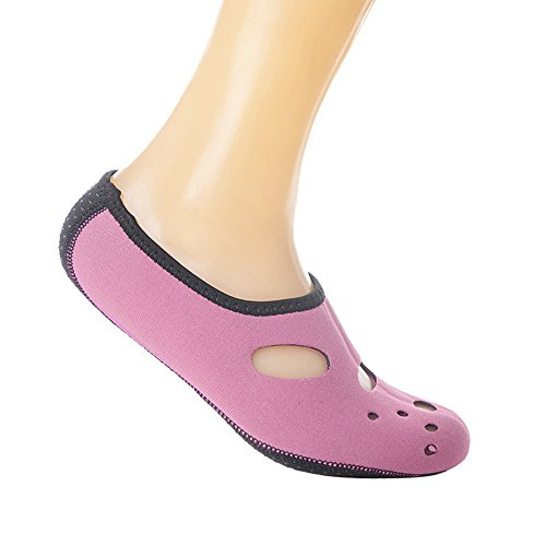 Barfuß Shujin Unisex Kinder Trocknend Rutschfeste Schnell Wassersport Schuhe Herren Aqua für Rosa Damen Badeschuhe Strandschuhe Weich Sommer Surfschuhe Schwimmschuhe IBrCnIwq