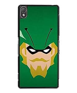Cute Funda Case for Sony Xperia Z3 DC Comics Green Arrow Logo Creative Design Ultra Thin TPU Funda Case & Cover (Not for Z3 V / Z3 Compact)