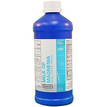 Milk of Magnesia, USP, 16 oz.