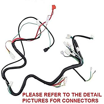 10z chinese gy6 150cc 250cc wire harness wiring scooter moped atv quad wh10