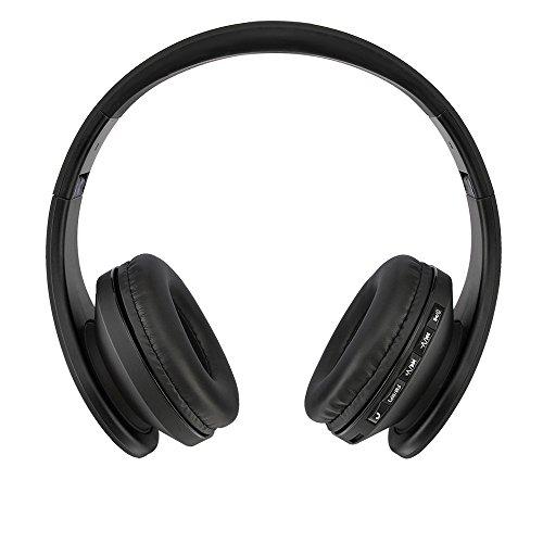 Andoer® LH-811 Digitaler4 in 1 MultifunktionalerDrahtloser Stereo Bluetooth 3.0 + EDR Kopfhörer OhrhörerHeadset & Verkabelter Kopfhörer mit Mikrofon MP3 Player MicroSD / TF Musik FM Radio Freisprechen für Smart Phones Tablette PC Notebook