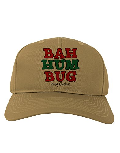 TooLoud Bah Humbug Merry Christmas Adult Baseball Cap Hat - -