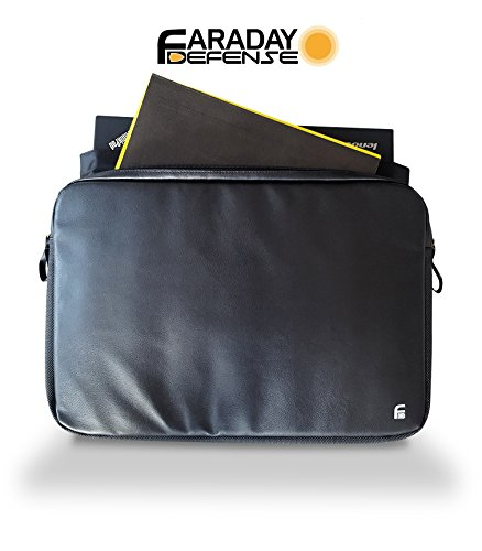 Laptop X-large Faraday Bag 15.6 RFID Privacy Protection Anti-tracking Anti-spying EMP GPS Rfid Signal Blocking Bag
