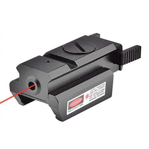 CVLIFE Tactical Red Dot Laser Sight with 20mm Standard Weaver Rail for Pistol Gun Rifle - Red Dot Bow Sights
